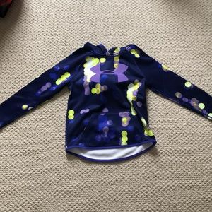 Girls Youth small under Armour hoodie